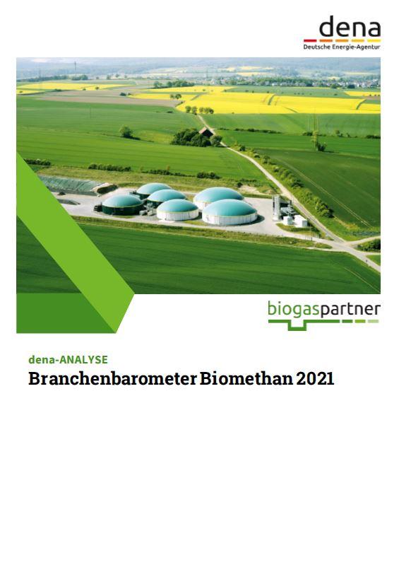 Branchenbarometer Biomethan 2021